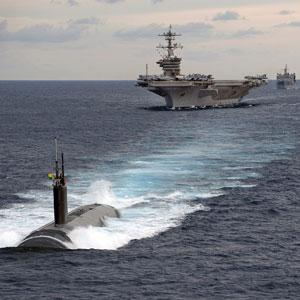 How about …. het probleem van de militaire onderzeeër